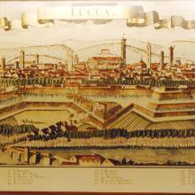 cartina storica Lucca