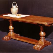 1971 - il primo tavolo disegnato da Lorenzo Pacini