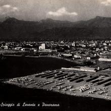 1946/47 - periodo di ricostruzione del secondo stabilimento balneare