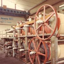 Anni 80 - Premontaggio seccheria in Officina