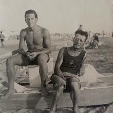 1938 - a destra, Antonio Volpe
