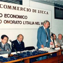 Premiazione 1987 - le autorità