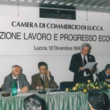 Premiazione dicembre 1993 - le autorità
