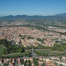 La Città di Lucca vista dall'alto