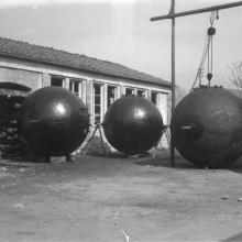 1949 - Bollitori in officina