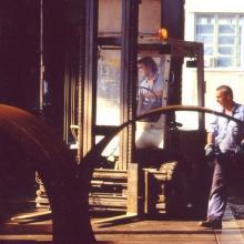 Anni 95 - Reparto carpenteria