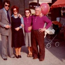 Beppe, Rosa, Rita e Gino