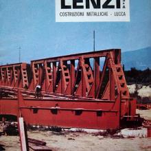 Copertina depliant pubblicità Lenzi Spa