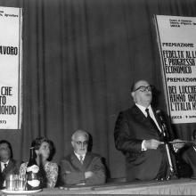Premiazione settembre 1973 - le autorità