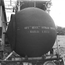 1952-53 - Recipiente in pressione