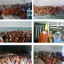 Alcune delle feste al Bagno Ester: centenario, feste in maschera, giochi per bambini (Esteriadi), feste a tema...