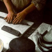 Produzione di manufatti in ceramica