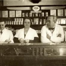 Bruno Di Ciolo, classe 1890, fondatore della Farmacia Di Ciolo