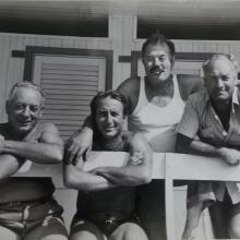 Anni '70 - dietro, Luigi Spazzafumo