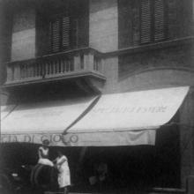 """La Farmacia dopo la ristrutturazione in """"stile fiorentino"""" - fine anni '20"""
