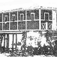 Bagno Bertuccelli ancora su palafitte - primi del '900