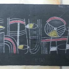 Bozzetto realizzato da Fabiano Favret nel 1959