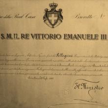 Brevetto reale del 1919