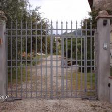 Cancello con portina