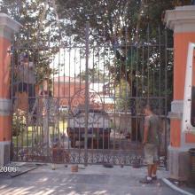 Cancello Esedra ex Enel montaggio