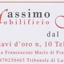 Carta intestata Francesconi Massimo