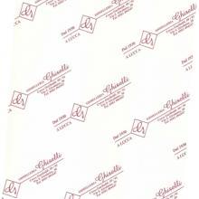 Carta da regalo con il logo in evidenza