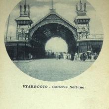 Cartolina Galleria Bagno Nettuno