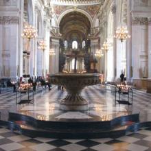 Realizzazione nella Cattedrale di St.Paul a Londra