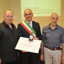 Mauro Giacchetti e Alfredo Venturi