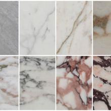 Le varietà di marmo estratte