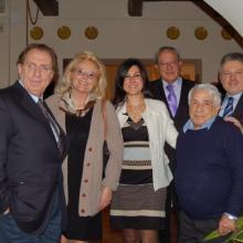 Con Michele Mirabella