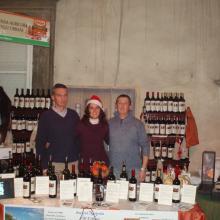 Massimo, Francesca e Angelo Urbani al Desco 2009
