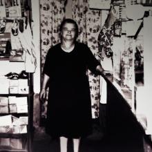 Leontina Mazzocchi nell'emporio
