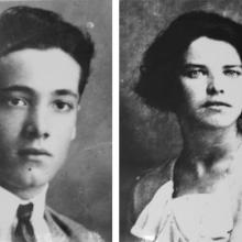 I fondatori dell'attività Torquato Coluccini e Leontina Mazzocchi