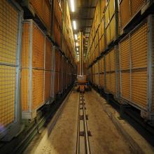 Deposito fermentazione del tabacco