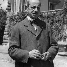 Conte Vincenzo Giustiniani divenuto proprietario della Tenuta di Forci nel 1917