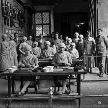 Operaie della Manifattura Tabacchi - Foto Ettore Cortopassi anno 1926