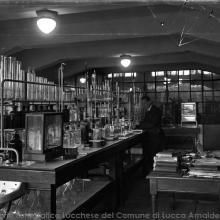 Fabbrica metallurgica SMI - Foto Ettore Cortopassi anni '30-'40 del XX sec.