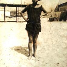 Ester Volpe, classe 1913, negli anni 20