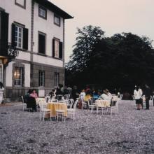 Esterni Villa Sardi durante ricevimento