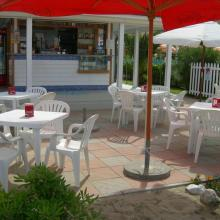 Esterno del bar del Bagno Bertuccelli