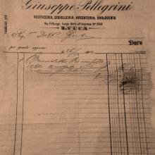 Fattura del 1893
