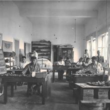 Favret Mosaici nel 1949