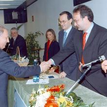 Premiazione Francesconi Mario Fedeltà al Lavoro 2003