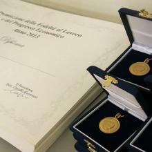Premiazione maggio 2013 - i premi