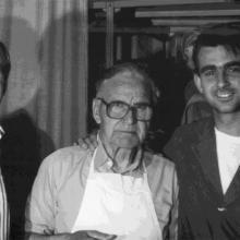 Pier Giorgio, Mario e Mauro Gori, tre generazioni de L'Artigina Viareggina - 1987