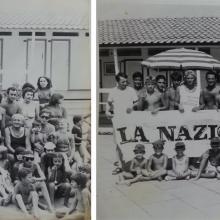 Gruppi di gioco anni 70 e 80: i bagnanti di allora sono perlopiù gli stessi clienti di oggi