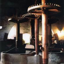 Le mole dell'antico frantoio del '700