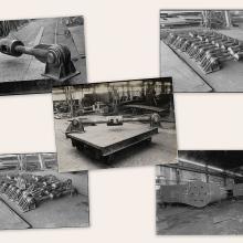 Alcuni prodotti realizzati dalle Officine Lenzi