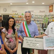 Agosto 2015 - Inaugurazione nuova sede in V. Canipaia, n. 9 a Barga alla presenza del Sindaco